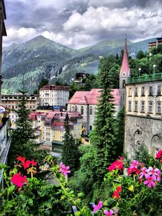 Mountain Village, Gastein, Austria