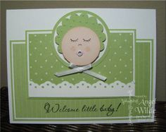 Punchy Baby Card