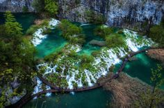 Plitvice Lakes National Park, Croatia By @West East South North