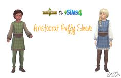 Child - M/F  Shoes are part of the outfit - Under Suit - Green/Brown and Blue/White, feel free to recolor :)  DOWNLOAD
