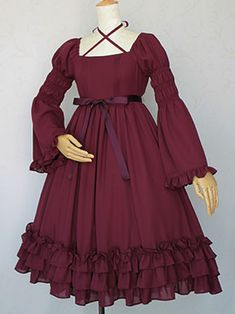 Royal Sleeve Long Dress (2014) by Victorian Maiden