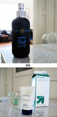 DIY for Bumble Surf Spray~~Need to try this for beach wavy hair #nifty