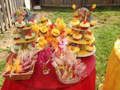 Winnie the pooh party idea.
