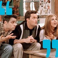 Can You Guess Famous Friends Lines From Just a Freeze-Frame? - Vulture