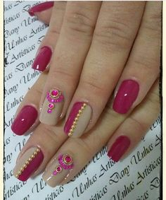Pink + nude