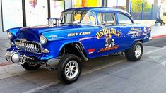 Project Cars For Sale - Your Resource For Finding Your Next Project! Click here to see an awesome 1955 Chevrolet Gasser!