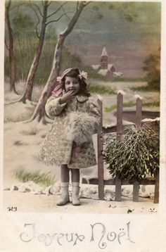 French antique postcards little girl 10 by Fairymelodycollect on Etsy antique france french girl collage photograph postcard vintage brocante letter photo postcard calligraphy manuscript art