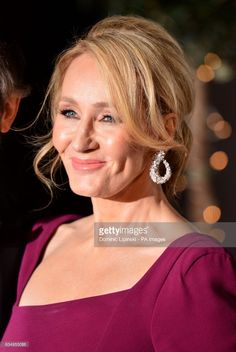 J. K. Rowling attending the after show party for the EE British Academy Film Awards at the Grosvenor House Hotel in central London.