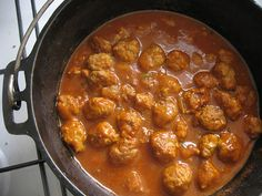 a sweet and sour meatballs recipe that's different than the chili sauce and grape jelly one