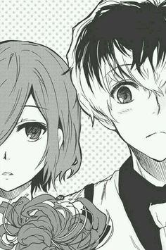 Touka and Sasaki