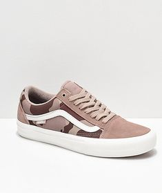 Vans Old Skool Pro Desert Camo Skate Shoes da56a8149