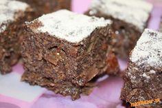 zdravy makový koláčik Dry Yeast, Street Food, Vegetarian, Bread, Baking, Fit, Cakes, Backen, Cake