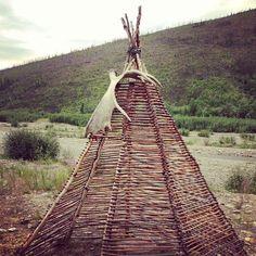 #instagram #alaska #teepee #wicker #birch - @pattoo74