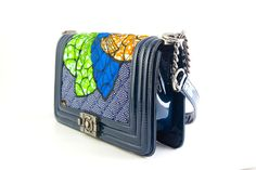 African Print Tribute Quilted Bag African by ToteCollections