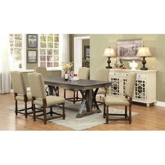 Constance Dining Table #birchlane