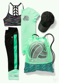 Serve, spike and win in our volleyball-ready activewear! - Tap the link to shop on our official online store! You can also join our affiliate and/or rewards programs for FREE! Volleyball Outfits, Volleyball Shirts, Gymnastics Outfits, Beach Volleyball, Volleyball Bags, Sporty Outfits, Athletic Outfits, Athletic Wear, Athletic Clothes