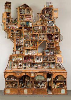 Dollhouses: Keep out of reach of children. — byKarina Schaapman