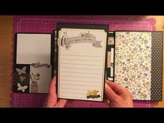 Mini Album All Occasion Decorated Simple Stories collection - YouTube