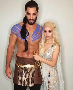 funny-halloween- Daenerys-Khal-halloween