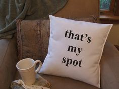 Big bang quote graphic throw pillow cover by TwirlyGirlTees, $14.99