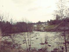 Keravanjoki huhtikuussa
