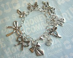 bows charm bracelet (I WANT IT!!!) Bow obsession