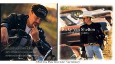 """Ricky Van Shelton ~  """"I Wish You Were More Like Your Memory"""""""