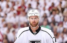 Jeff Carter of the LA Kings scores a Hat Trick in the 2nd game of the Western Conference Final on Tuesday May 15, 2012