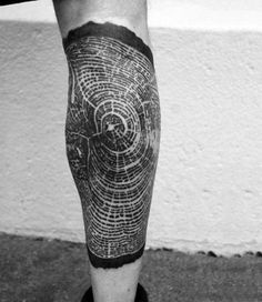 Elbow Tattoos for Men - Ankle Tattoo Designs Tree Ring Tattoo, Tree Tattoo Back, Tree Tattoo Men, Pine Tree Tattoo, Tree Tattoo Designs, Tattoo Art, Inner Elbow Tattoos, Leg Tattoos, Tattoos For Women
