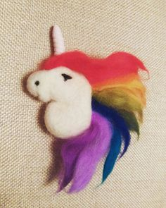 Hey, I found this really awesome Etsy listing at https://www.etsy.com/uk/listing/266454442/rainbow-unicorn-statement-brooch