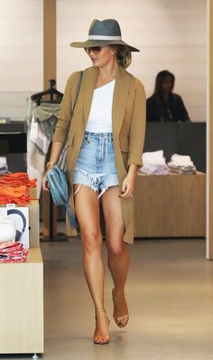 How to Wear Shorts When You're Over Age 30 via @WhoWhatWearUK