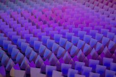 Gradients, Reflections & Doted Lamp Light Installation by Studio Dennis Parren » Retail Design Blog