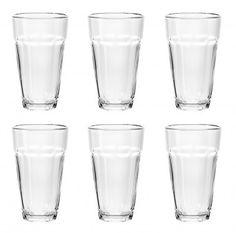 6er+Set+Wasserglas+Jazz,+225+ml+-+Sechs+Trinkgläser+im+Set.+Ideal+für+Softdrinks.Material:+GlasMarke:+NANU-NANA
