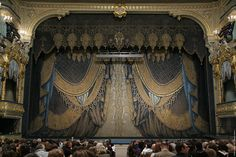 The Mariinsky Theatre curtain by Alexander Golovin