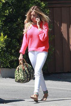 Ashley Tisdale Grabs Lunch in LA