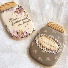 Mason Jar Vintage Cookies
