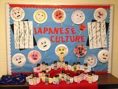 Students created Noh masks and traditional Japanese dolls to celebrate Hina Matsuri. Lego Classroom Theme, Classroom Ideas, Holiday Bulletin Boards, Cultural Studies, Social Studies, Hina Matsuri, Global Awareness, International Day, Japanese Language