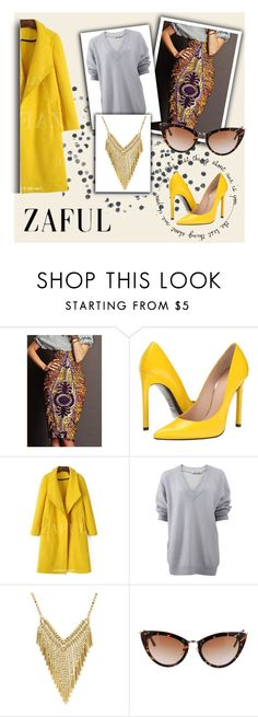 """http://www.zaful.com/?lkid=6880"" by amra-sarajlic ❤ liked on Polyvore featuring Stuart Weitzman and T By Alexander Wang"