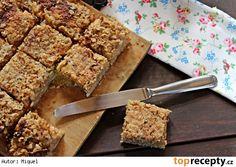 Jablečný koláč s ovesnými vločkami Sweet Pie, Cake Tutorial, Banana Bread, French Toast, Food And Drink, Sweets, Cooking, Breakfast, Fitness