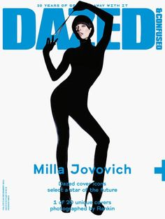Dazed and Confused December 2011 Milla Jovovich Photo by Rankin