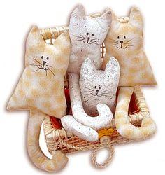 lidinrecicla.: Gatos de adorno.