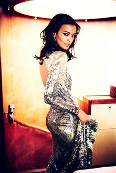 """fashiongonerogue: """" Liya Kebede Dazzles for Ellen von Unwerth in The Sunday Times Style """" Let There Be Luxe – Top model Liya Kebedeshows off the glam side of fashion in the November issue… """" View. Ellen Von Unwerth, Liya Kebede, Natalia Vodianova, Lily Aldridge, Cindy Crawford, Heidi Klum, Elie Saab, Glitter Make Up, Silver Glitter"""