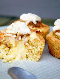 Æblecupcakes med vaniljecreme - Funktionel Mad ApS