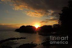 sunset over corozal bay belize
