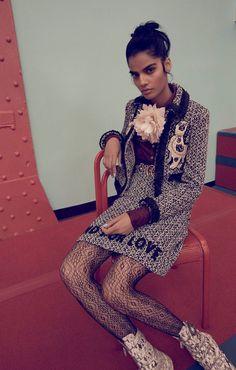 Photography: Nick Hudson Styled by: Edward Lalrempuia Hair: Hiro+Mari Makeup: Misha Shahzada Model: Bhumika Arora