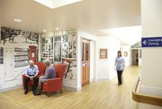 """Dementia Care Centre """"Roker and Mowbray"""" by Medical Architecture is purpose built to consolidate the NTW Trust's Dementia Care Services into one location."""