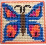 PDF Format MYSTIC BLUE Butterfly Coaster by kathybarwick on Etsy, $2.99