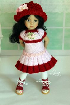 "The outfit for doll 13"" Dianna Effner Little Darling"