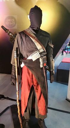 Chirrut Imwe Fatigues Costume Designed By David Crossman & Glyn Dillion For Rogue One: A Star Wars Story (2016)