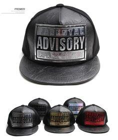 Parental advisory exlicit content Glitter snapback hat flat baseball cap hiphop #Premier #BaseballCap